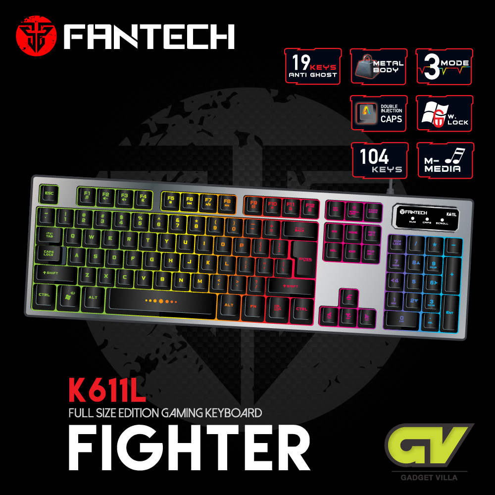 FANTECH K611L (Fighter) Gaming Keyboard