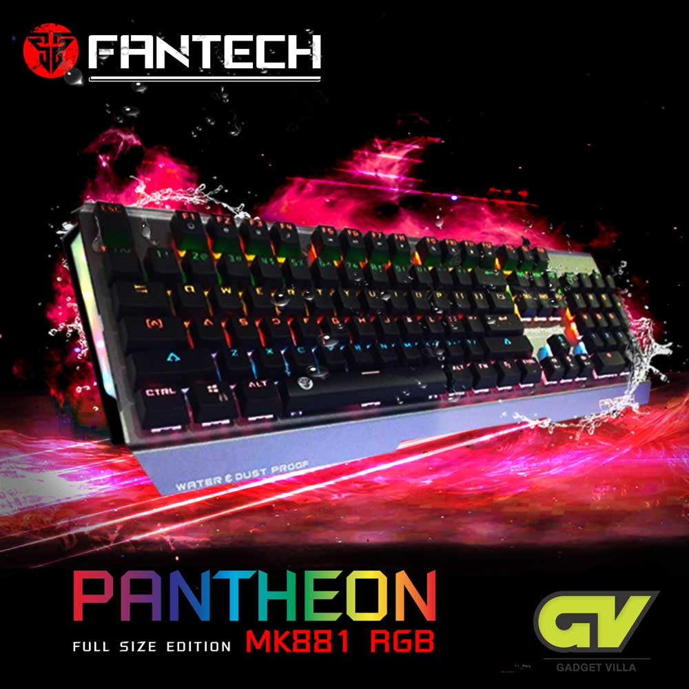 FANTECH MK881RGB PANTHEON Mechanical Blue Switch Fullsize Edition