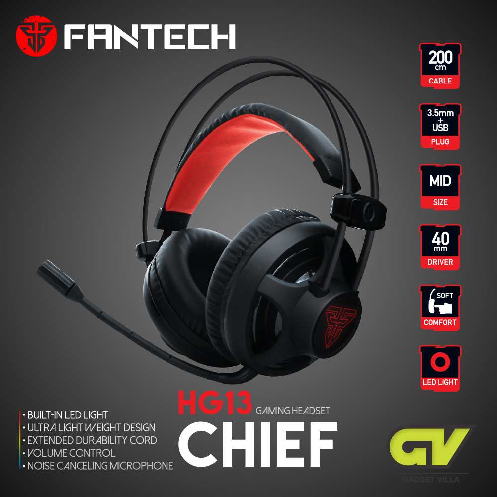 FANTECH รุ่น HG13 CHIEF Stereo Headset for Gaming