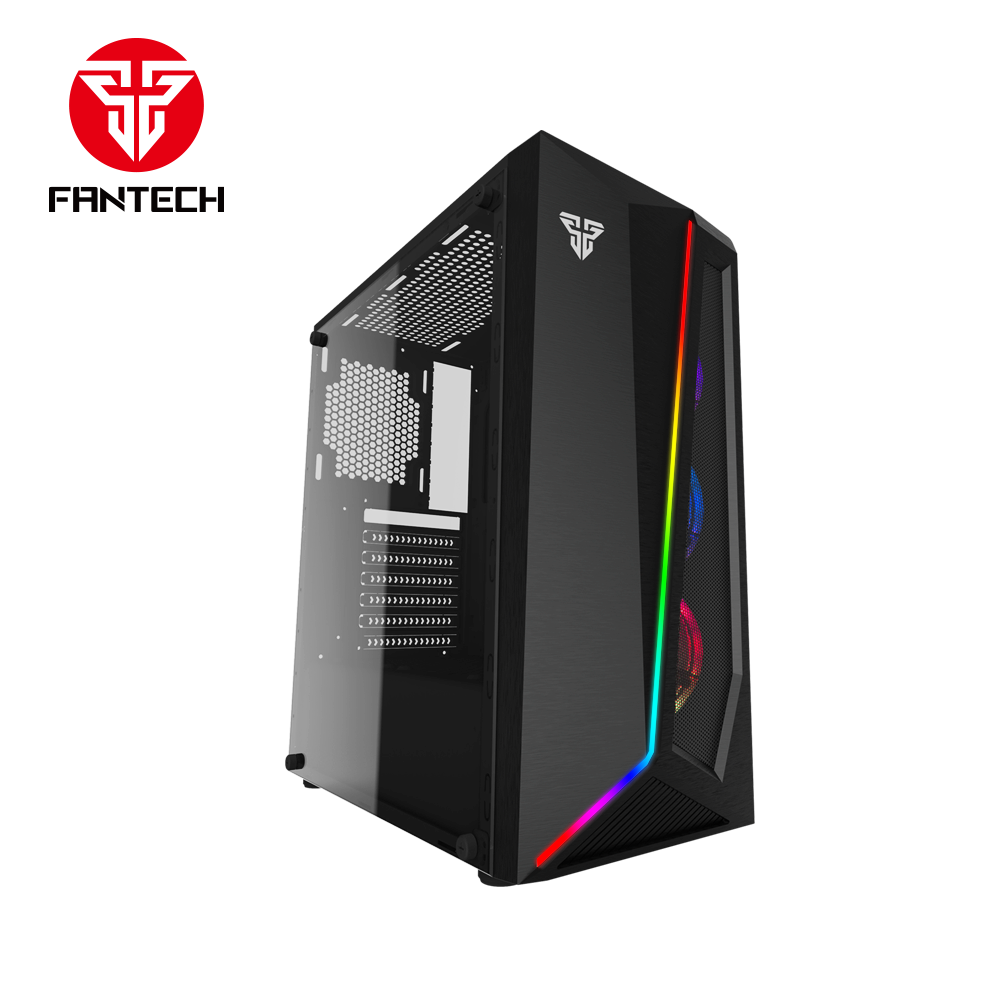 FANTECH PULSE CG71 Rgb Middle Tower Case (สีดำ)